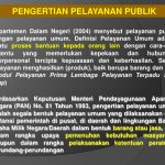 Pelayanan Publik di dalam pemerintahan