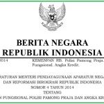 Angka Kredit Jabatan Fungsional Satpol PP